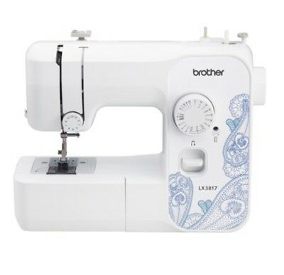 Brother Full Size Sewing Machine.17 Built-in Stitches LX3817 NEW