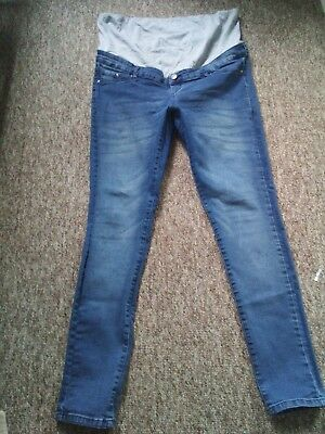 Maternity over bump jeans Size 16