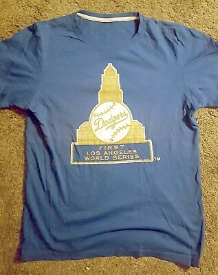 T-Shirt M Los Angeles LA Dodgers MLB Baseball