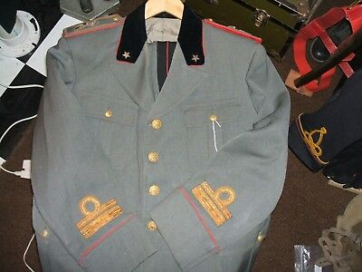 WWII Italian Officer Infantry Major uniform tunic and pants M-34