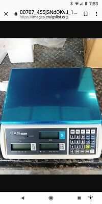 CAS Price Computing Scale S2000jr30L New In The Box