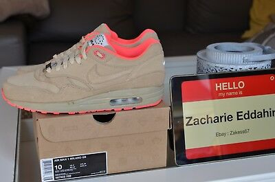 newest collection 6ecce 63c60 Nike Air Max 1 Milano QS