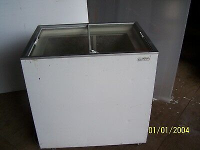 Excellence Industries, Euro 8, flat lid display,ice cream freezer