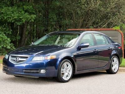 2008 TL w/Navi 4dr Sedan w/Navigation Acura TL Blue with 69,000 Miles, for sale!