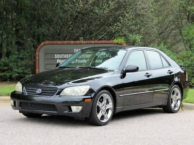2002 IS Base 4dr Sedan Lexus IS 300 Black with 120,000 Miles, for sale!