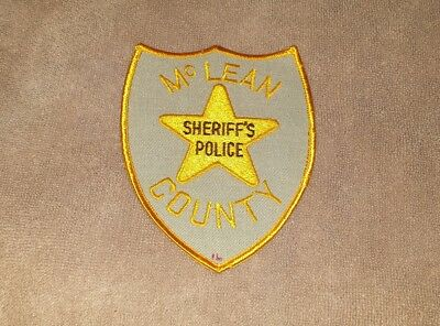 McLean County Illinois Sheriff's Police Shoulder Patch