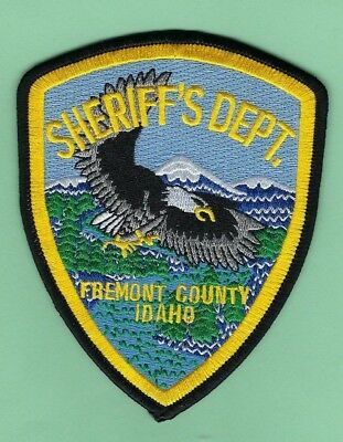 FREMONT COUNTY SHERIFF's OFFICE PATCH ~ IDAHO ~ BEAUTIFUL ARTWORK & NICE COLORS