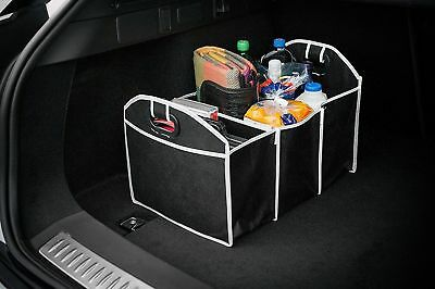 Car Boot Organiser Shopping Tidy Foldable Storage Box Heavy Bag Travel Large Box