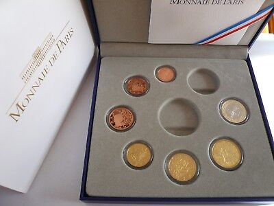 KMS Frankreich 2010 PP -   1 Cent - 1 Euro  , Coin Proof Set