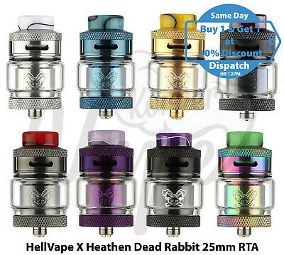 Hell Vape x Heathen Dead Rabbit 25mm RTA