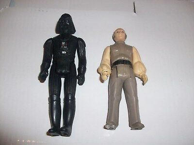 Vintage Star Wars Lot Darth Vader & Lobot