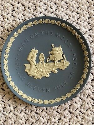 Wedgwood Man On The Moon - Apollo 11 Plate - 1969