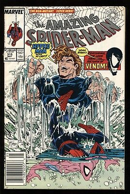 Amazing Spider-Man #315 Early Venom Appearance/story ~ Todd Mcfarlane Art