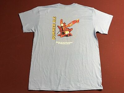 Shipyard Brewing Shirt MEN'S Large Lobster Summer Ale + 4 Koozies (NEW) - Maine