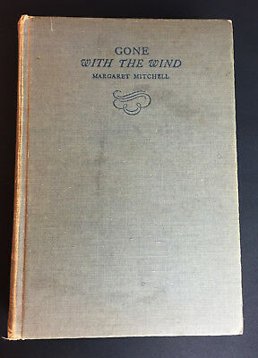 Gone With The Wind Margaret Mitchell HC 1st Ed October 1936 Printing