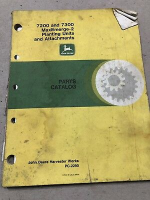 12 John Deere, AC, Oliver &  Operator Manuals & Parts Catalogs, Various Machines