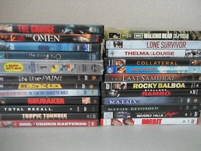 LOT of 24 DVDs... Different Genres... New and Pre-owned-Price REDUCED!!!