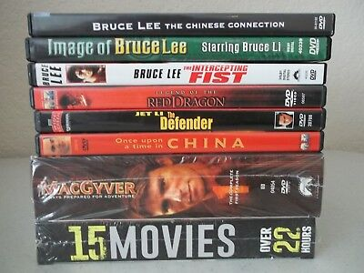 Lot of Action 8 DVDs- Pre-owned - Price REDUCED!!!