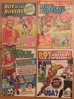 Roy of the Rovers Holiday Specials 1979 1984 1985 1993