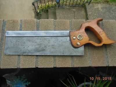 Henry Disston & Sons 12 inch back saw (13TPI)