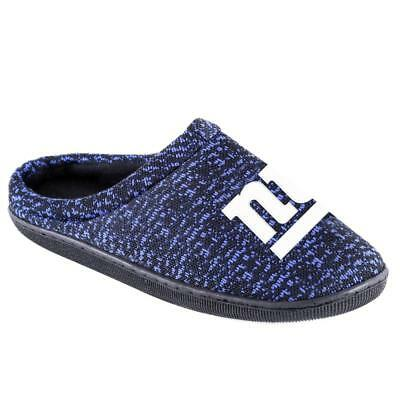 447a2761 NFL POLY KNIT Cup Sole Slide Slippers NEW New England Patriots ...