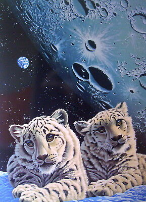 """William Schimmel """"Lair of the Snow Leopard"""" – Poster Collectors Editions 1994"""