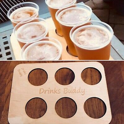 Drinks Holder, Vending Machine Tray, Cup Holder (Free Personalisation).