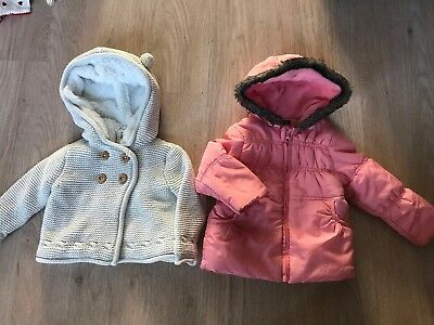 baby girl jacket 12-18 months