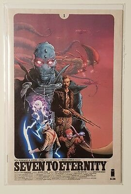 Seven to Eternity #1, First Print, Comic, Image, VF/NM, Rick Remender, Opena