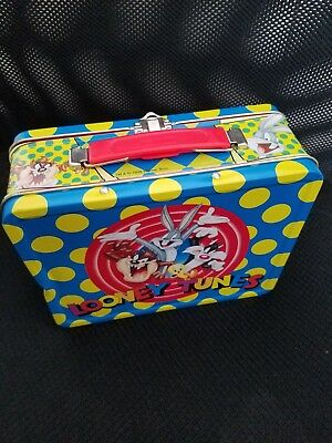 Looney Tunes Tin Lunch Box - Collectible, Never Used
