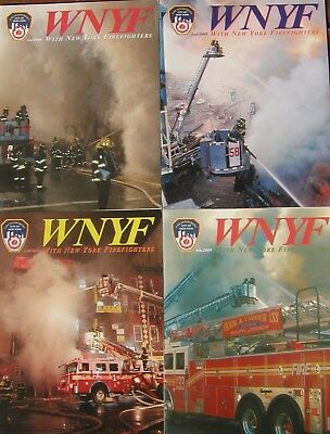 2009 Wnyf 4 New York Firefighters Nyfd Magazines
