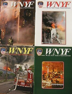 2012 Wnyf 4 New York Firefighters Nyfd Magazines