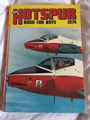 The Hotspur Book For Boys 1974 Unclipped (B48)