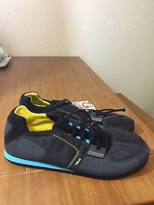 5650aa2dadc5 Mens Teva Mush Frio Canvas Lace Up Blue Shoes Sneakers Sz 15 New With Tags