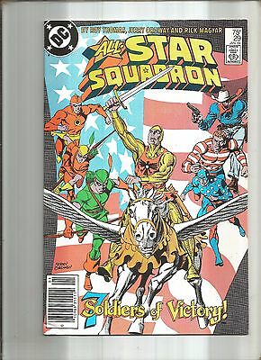 All-Star Squadron #29   The Seven Soldiers Of Victory  Ww Ii  Dc  1984 Nice!!!
