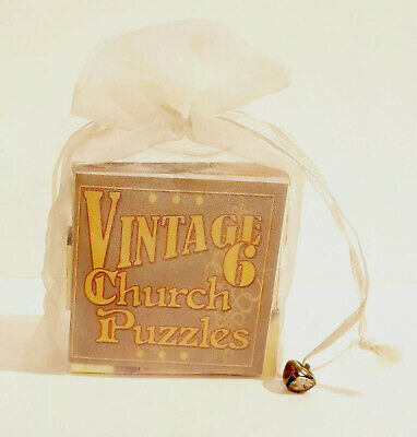 Irish Puzzle Six Sided Church Style by Primitives by Kathy