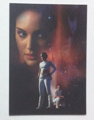 Topps Star Wars Attack Of The Clones Silver Foil Card # 2 Padme