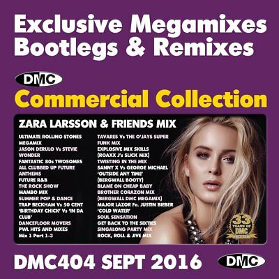 VARIOUS - DMC Commercial Collection Mixes 428 Sept 2018 (DJ Use Only