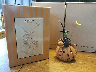 """August Moon, Moonbeams by Dan DiPaolo """"Pumpkin Patch Trixie"""" 0508054 New In Box"""