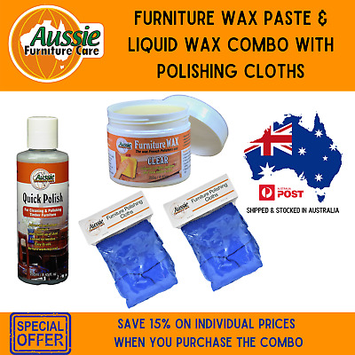 Furniture Polish Pack- Everything You Need in 1 Pack