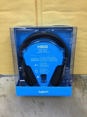 Logitech H800 Wireless Bluetooth Headset for PC Tablets Smartphones 981-000337