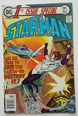 1st Issue Special #12 Starman 1976  DC Comics in FN Condition