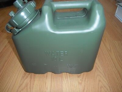 RARE OD Green US ARMY NEW Scepter Jerry Water Can REAL Military MWC 2.5gl 10L