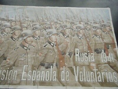 Spain  Wwii  1941  Division  Volunteer  In Russian Front =Food Coupons  Block