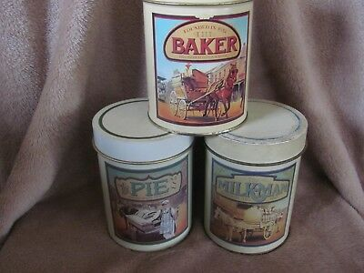 Collectable Maxwell House Tins X 3