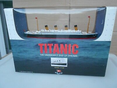 """Titanic Genuine Diecast Model Ship Claytown Collection 1 1136"""" Scale 1998 N.I.B."""