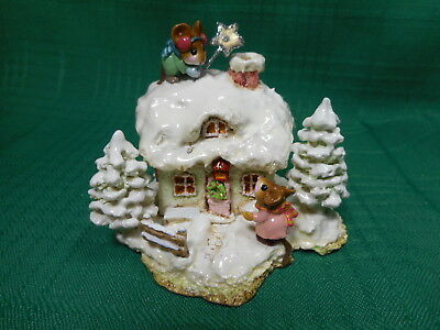 Wee Forest Folk Christmas Cottage  M-311c