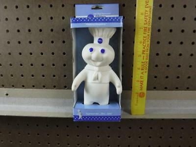 Pillsbury Doughboy Soft Vinyl Squeezable Doll in Box 1997 7 inch tall