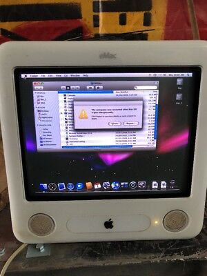 emac A1002 Vintage Apple Computor Gaming