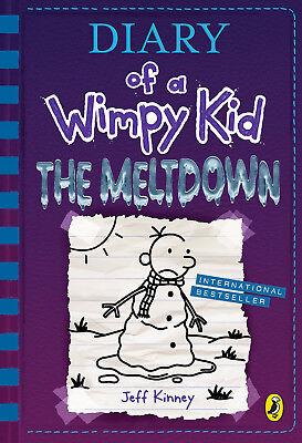 Diary of a Wimpy Kid: The Meltdown (book 13) Hardcover 30 Oct 2018 *PRE ORDER*